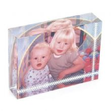 Small Photo Crystal Block - Personalised Photo Glass Gift